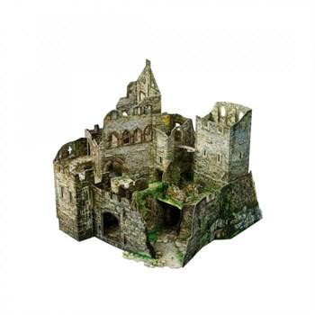 Руины замка. Сборная игрушка из плотного картона