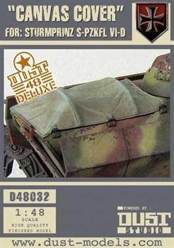"""Canvas Cover'' For Sturmprinz (собран и окрашен) Тентовое покрытие для Sturmprinz"