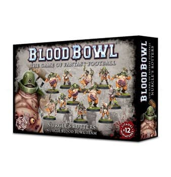 Blood Bowl: Nurgle's Rotters Team