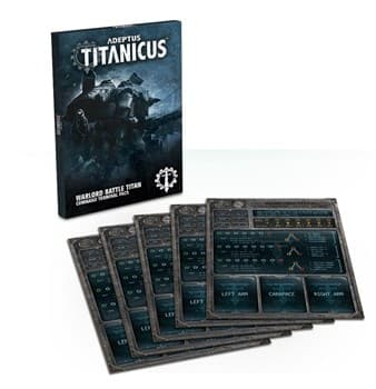 Adeptus Titanicus Reaver Battle Titan Weapon Card Pack