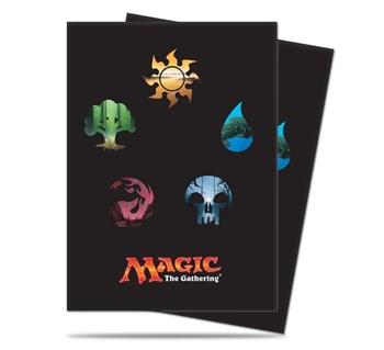 Standard Deck Protector - Magic: The Gathering: Mana 5 Symbols
