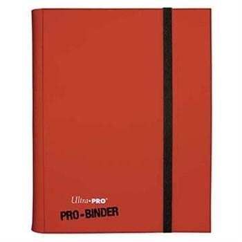Альбом Ultra-Pro Pro-Binder c 20 встроенными листами 3х3 — Красный