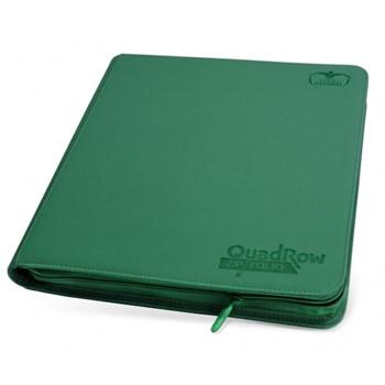 "Ultimate Guard - Альбом ""Квадро"" на молнии зеленый на 480 карт (4х3)"