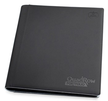 12-Pocket QuadRow Portfolio Black