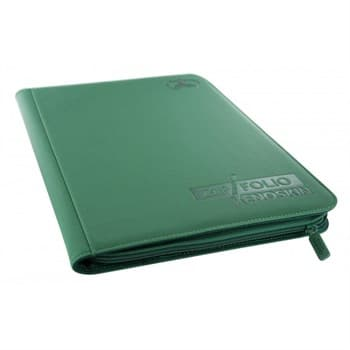 8-Pocket  ZipFolio XenoSkin Green