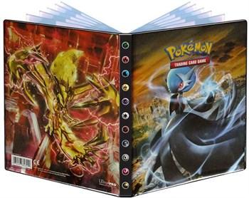 Альбом для карт Pokemon с 10 листами 2х2 - XY11 (Мега-Гардевуар и ТУРБО-Ивелтал)