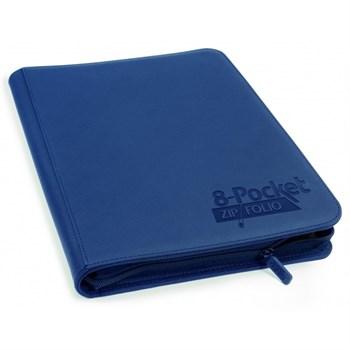 8-Pocket  ZipFolio XenoSkin Dark Blue