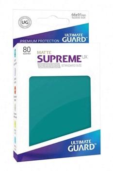 Supreme Sleeves Standard Size Matte Petrol (UX)