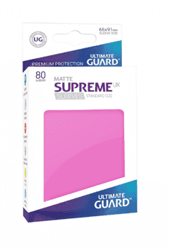 Supreme Sleeves Standard Size Matte Pink (UX)