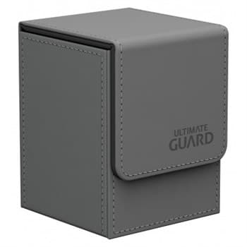 Flip Deck Case 100+ Standard Size Grey
