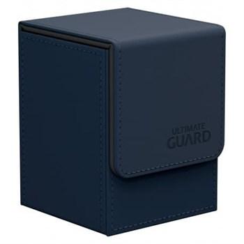 Flip Deck Case 100+ Standard Size Dark Blue