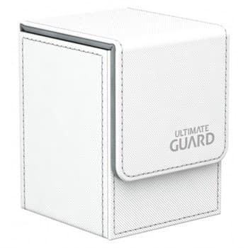 Flip Deck Case 100+ Standard Size XenoSkin White