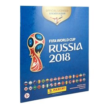 Альбом Чемпионат мира по футболу Fifa2018™ c 15 наклейками