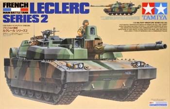 Французский основной танк Leclerc Series 2, с фигурой командира.