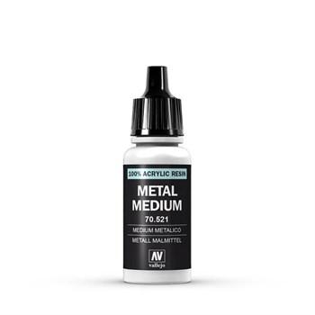 Metal Medium 17 ml.