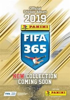 Бустер наклеек Panini FIFA 365-2019