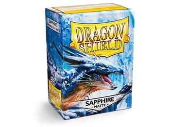 Dragon Shield - Голубые матовые протекторы 100 ук