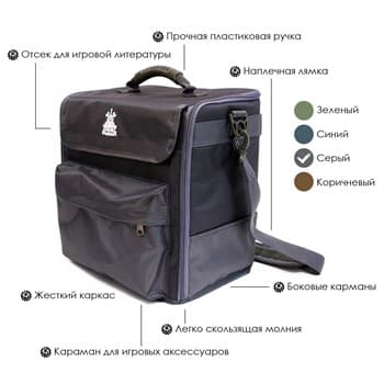 Сумка Ork's Workshop Bag-T Mark V (Army Transport) Grey / Серый