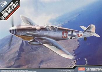 """Самолёт  Messerschmitt Bf109G-6/G-2 """"JG 27""""  (1:48)"""