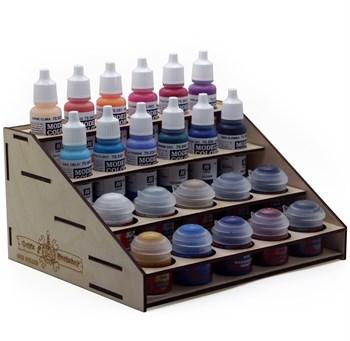 Подставка для красок Citadel-Vallejo (10+12 банок)