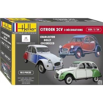 Автомобиль Citroen 2CV  (1:24)