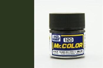 (!) Краска 10мл  RLM80 OLIVE GREEN
