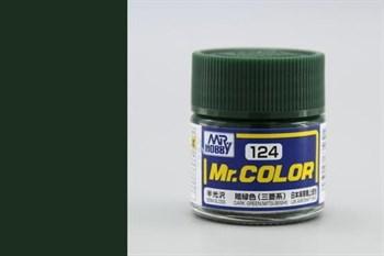 (!) Краска 10мл  DARK GREEN (MITSUBISHI)