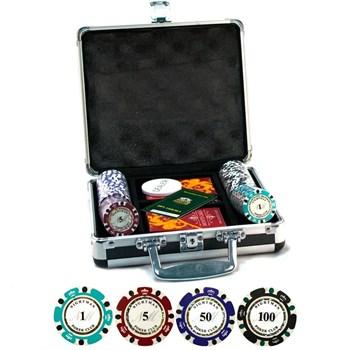 """""""Nightman100""""Профессиональный набор для игры в покер.100 фишек по 14грамм."""
