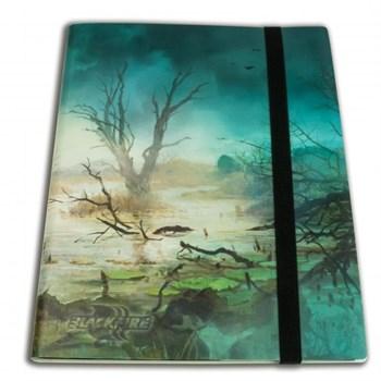 Альбом Blackfire c 20 встроенными листами 3х3 - Swamp