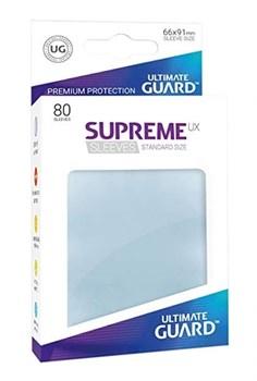 Supreme Sleeves Standard Size Matte Transparent UX