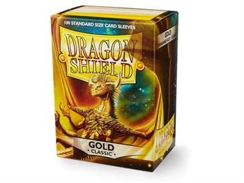 Протекторы Dragon Shield золотые (100 шт.)