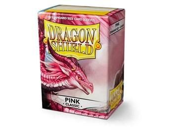 Протекторы Dragon Shield розовые (100 шт.)