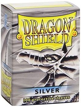 Протекторы Dragon Shield серебряные (100 шт.)