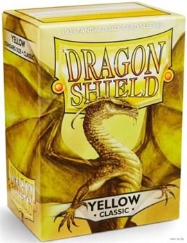 Протекторы Dragon Shield желтые (100 шт.)