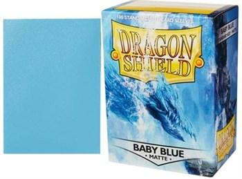 Протекторы Dragon Shield матовые Baby Blue (100 шт.)