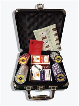 """""""Crown 100"""", Профессиональный набор для игры в покер."""