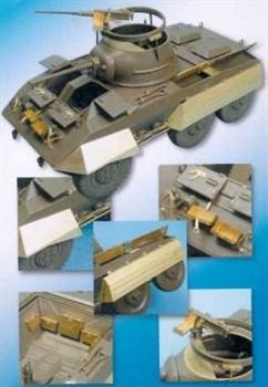 Американский бронеавтомобиль М8 (для Tamiya)