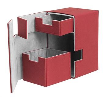 Flip'n'Tray Deck Case 100+  XenoSkin Red