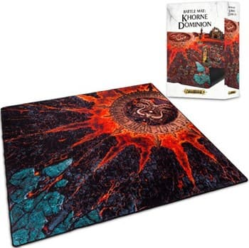 Warhammer Age of Sigmar Battle Mat: Khorne Dominion