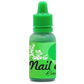 Краска для ногтей Nail Art — Сочный зелёный 15мл