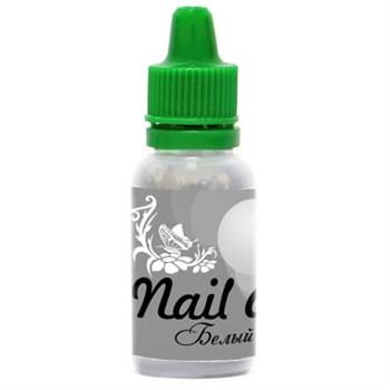 Краска для ногтей Nail Art — Белый жемчужный 15мл