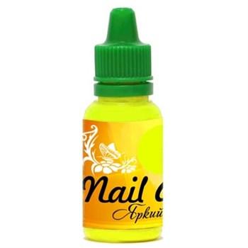Краска для ногтей Nail Art — Яркий жёлтый15мл