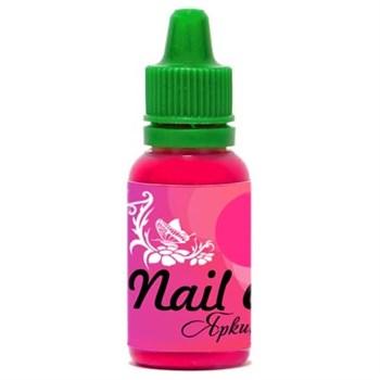 Краска для ногтей Nail Art — Яркий розовый 15мл