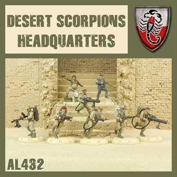Desert Scorpions HQ - MODEL KIT
