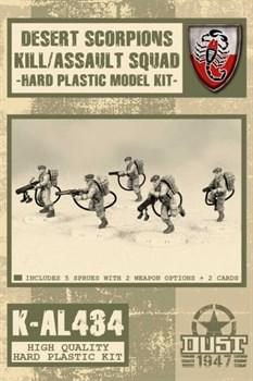 Desert Scorpions Kill Squad (не собран и не окрашен) Пустынные Скорпионы отряд убийц