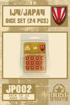 IJN - Japan Dice Set / Набор кубиков Япония