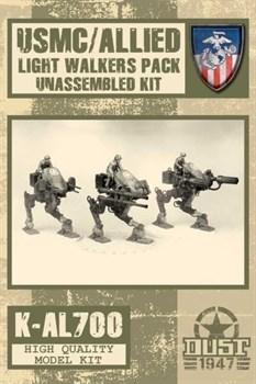 USMC/ALLIED LIGHT WALKERS PACK (не собран не окрашен) УСМС / Легкий Шагатель Союзников