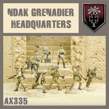 NDAK GRENADIERS HQ - MODEL KIT