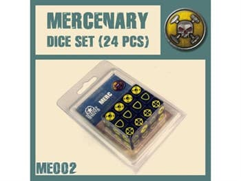 Mercenaries Dice Set
