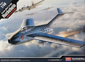 Сборная модель Focke-Wulf Ta 183 Huckebein  (1:48) Academy